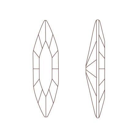 スワロフスキー・クリスタル #4200 デニムブルー/F(数量限定)