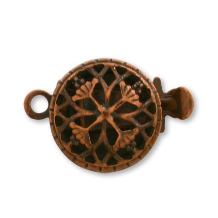 クラスプ 真鍮 丸 小1連 銅古美