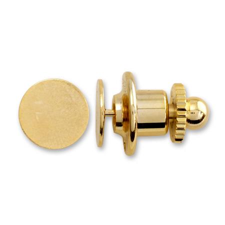タイタックセット 丸皿 ゴールド