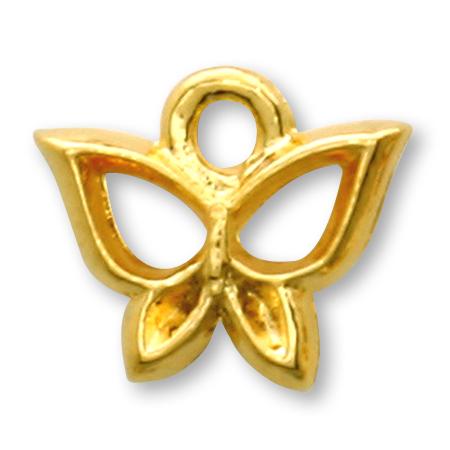 国産キャストチャーム 蝶1 ゴールド