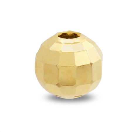 メタルビーズ ミラーボール ゴールド