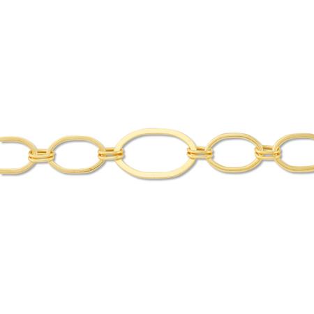 チェーン QK-104 ゴールド
