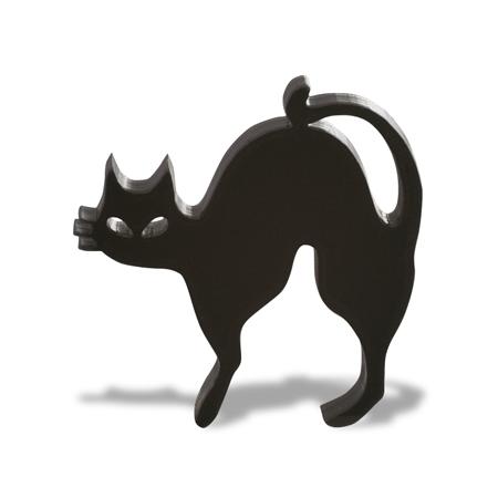 アクリルチャーム ハロウィン 黒ネコ ブラック