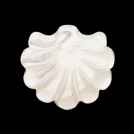 シェルパーツ シェルシェイプ 白蝶貝