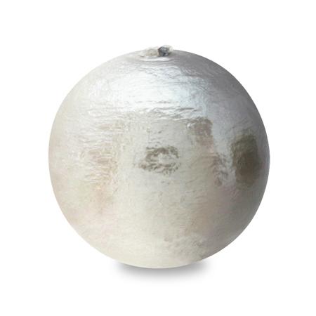 コットンパール スイートカラー 丸玉 ホワイト/アッシュ