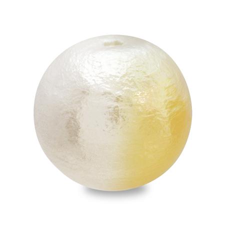 コットンパール スイートカラー 丸玉 ホワイト/ハニー