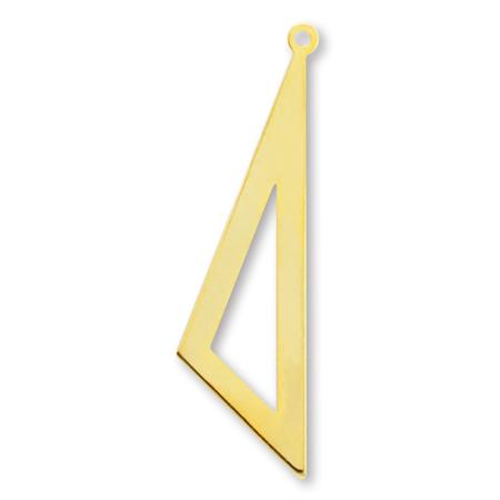 メタルパーツ 三角中抜 ゴールド