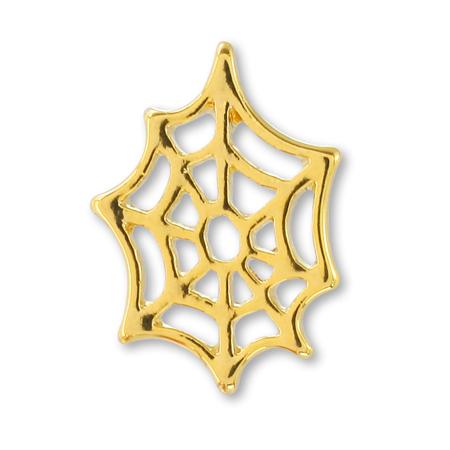 チャーム クモの巣 ゴールド