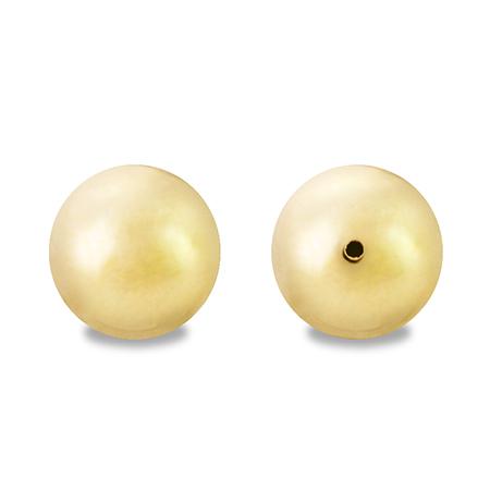 銅玉 片穴 ゴールド