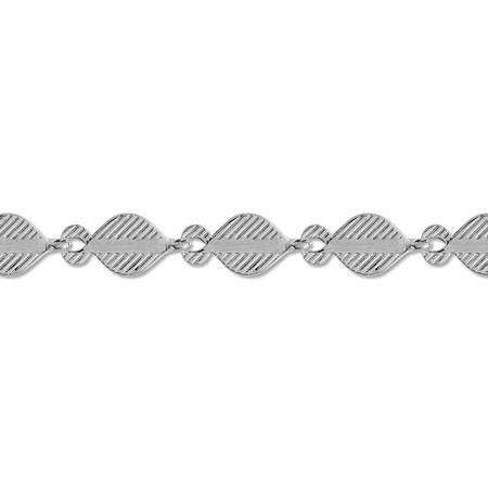 チェーン K-361  ロジウムカラー