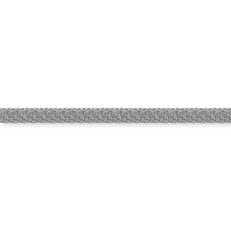 チェーン K-363  ロジウムカラー