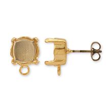 ピアス チタン石座付 ラウンド 8mm用(#1028/1088用) ゴールド