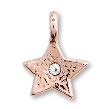 国産キャストチャーム 星1 ピンクゴールド