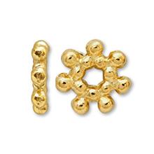 メタルパーツ フラワーNo.2 ゴールド