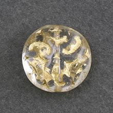 チェコ ヨーロピアンガラス変形9 クリスタル/G