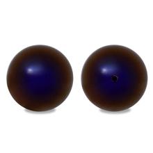 樹脂パール レジエール 片穴 レインボーブルー(数量限定)
