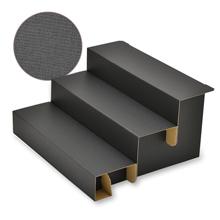 組立式3段飾り棚 Black