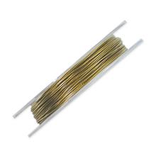 ナイロンコートワイヤー ゴールド(真鍮)