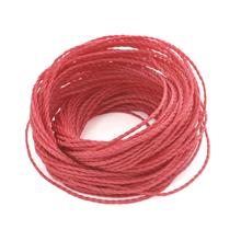 ブラジル製ワックスコード ピンク