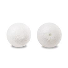 樹脂パール 片穴 エンボスホワイト