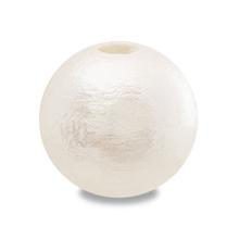 コットンパール 大穴 ホワイト