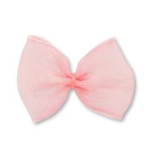服飾パーツ オーガンジーリボン ピンク