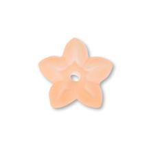 アクリル ドイツ製 花17 オレンジマット