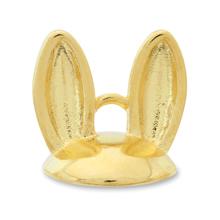 デザインキャップ ウサギ ゴールド
