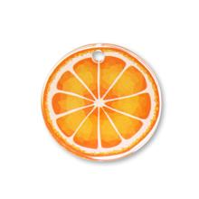 アクリルチャーム オレンジ