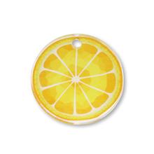 アクリルチャーム レモン