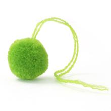 毛糸ポンポン イエローグリーン