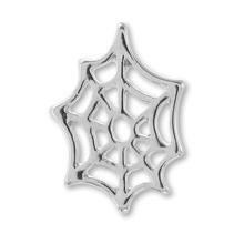 チャーム クモの巣 ロジウムカラー