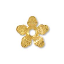 メタルフラワー 花五弁3 ゴールド