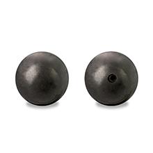 銅玉 片穴 ブラック