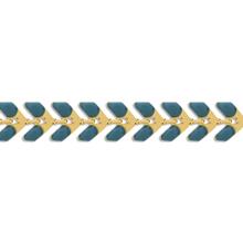 チェーン K-355 エポ付 ブルー/G