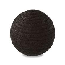 糸巻き玉 ブラック