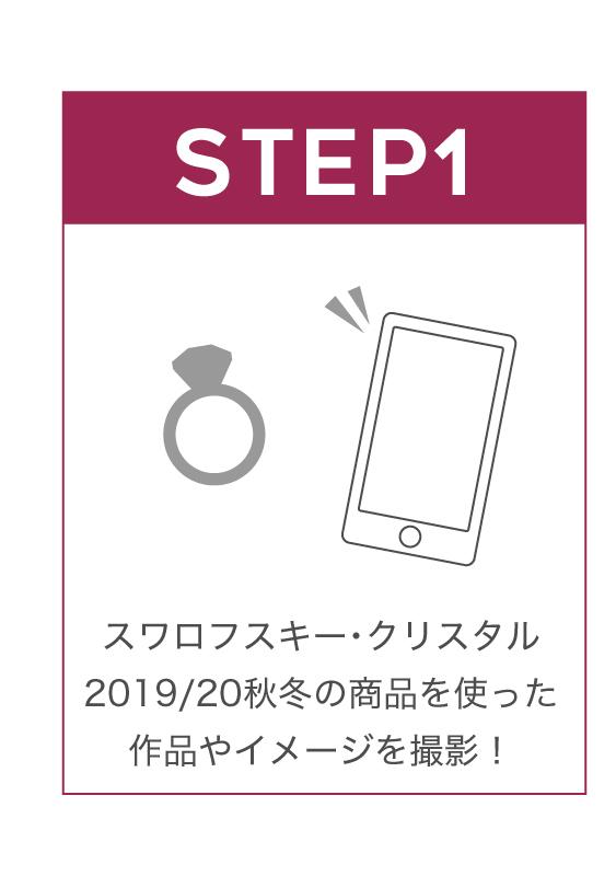 ステップ1 投稿写真を撮影